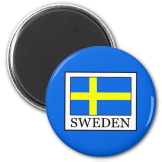 Schweden Runder Magnet 5,7 Cm