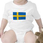 Schweden - schwedische Staatsflagge T Shirts