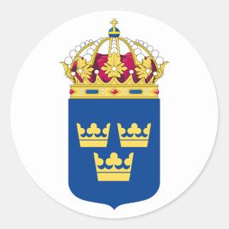 Schweden-Wappen Aufkleber