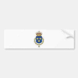 Schweden-Wappen Autoaufkleber