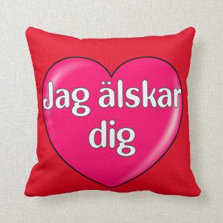 Schwedisch - i-Liebe Sie Kissen