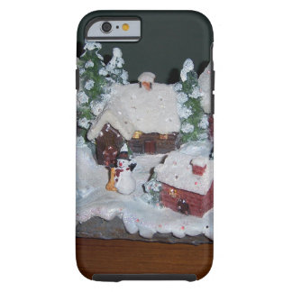 Schwedische Feiertags-Winter-Szene Tough iPhone 6 Hülle