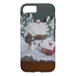 Schwedische Feiertags-Winter-Szene iPhone 8/7 Hülle