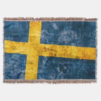 Schwedische Flagge Decke