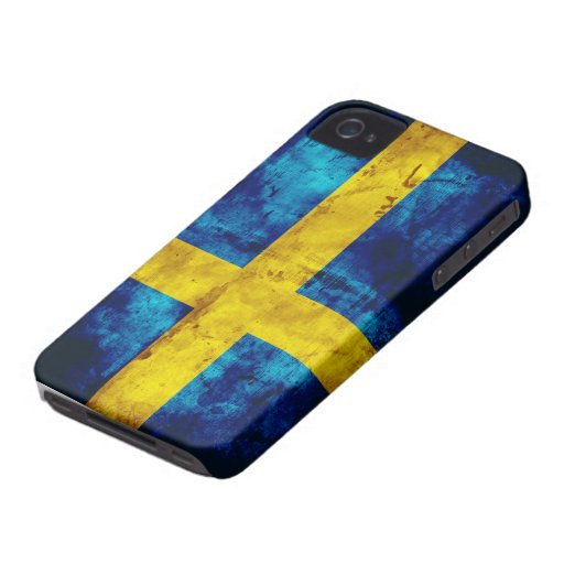 Schwedische Flagge iPhone 4 Etuis