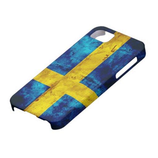 Schwedische Flagge Etui Fürs iPhone 5