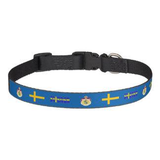 Schwedische Flagge Haustierhalsband