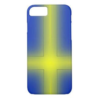 Schwedische Flagge iPhone 8/7 Hülle