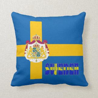 Schwedische Flagge Kissen