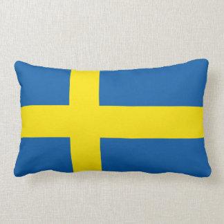 Schwedische Flagge Lendenkissen