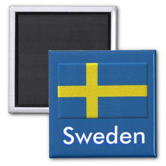 Schwedische Flagge Kühlschrankmagnet