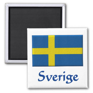 Schwedische Flagge: Sverige Magnets