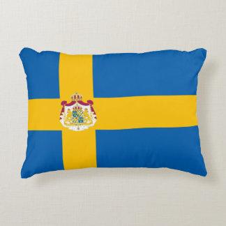 Schwedische Flagge Zierkissen