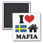 Schwedische Haus-Musik Magnete