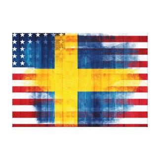 Schwedische | hölzerne Korn-u. Farben-Anschläge Leinwanddruck