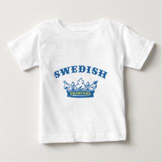 Schwedische Prinzessin Baby T-shirt