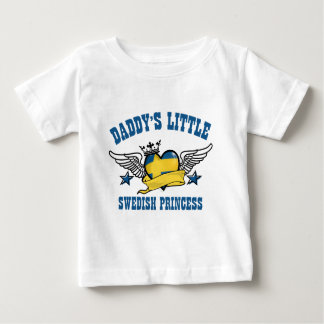 schwedische Prinzessinentwürfe Baby T-shirt