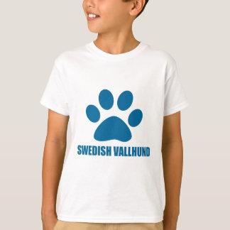 SCHWEDISCHE VALLHUND HUNDEentwürfe T-Shirt