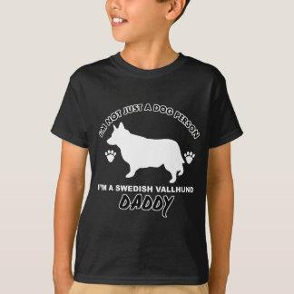SCHWEDISCHE VALLHUND Hundevatientwürfe T-Shirt