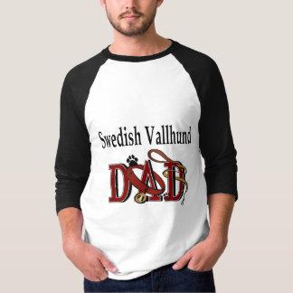 SCHWEDISCHE VALLHUND Vati-Geschenke T-Shirt
