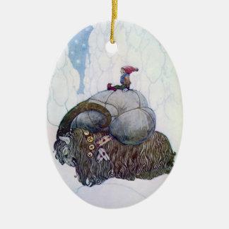 Schwedische Weihnachtsziege: Julebukking -