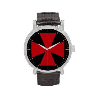 Schwedisches Freimaurer-Kreuz Uhr