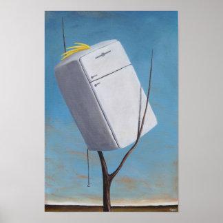 Schwefel Kelvinator mit Haube Poster