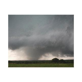 Schwefel, Tornado-Leinwand-Druck Oklahomas EF3 Leinwanddruck