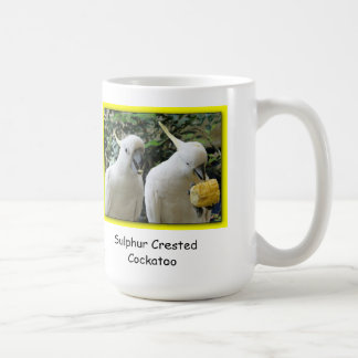 SchwefelCockatoo mit Haube Kaffeetasse