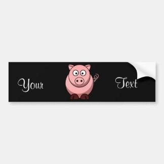 Schwein Autoaufkleber
