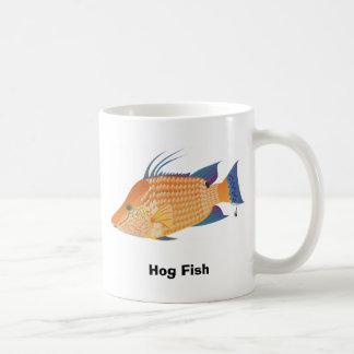 Schwein-Fische Kaffeetasse
