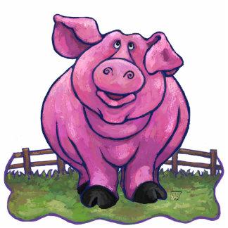 Schwein-Geschenke u. Zusätze Fotoskulptur Magnet
