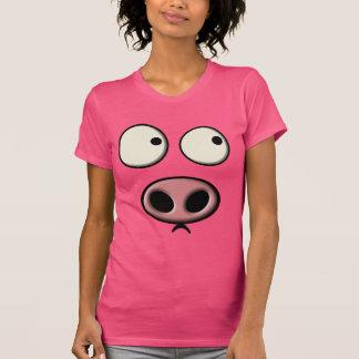 Schwein-Gesicht T-Shirt