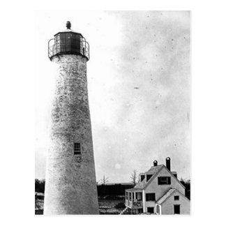 Schwein-Insel-Leuchtturm Postkarte