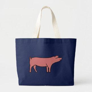 Schwein Jumbo Stoffbeutel