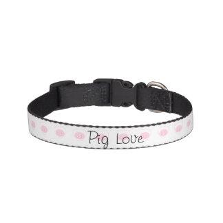 Schwein-Liebe-Hund oder Schwein-Kragen Haustierhalsband
