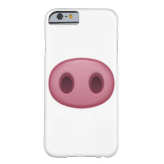 Schwein-Nase - Emoji Barely There iPhone 6 Hülle