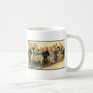 Schwein-Party Kaffeetasse