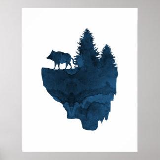 Schwein Poster
