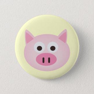 Schwein Runder Button 5,7 Cm