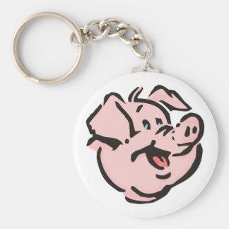 Schwein Sau pig hog Schlüsselanhänger