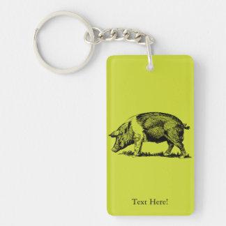 Schwein Schlüsselanhänger