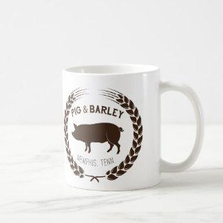 Schwein-u. Gersten-Tasse Kaffeetasse