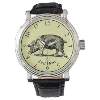 Schwein Uhr
