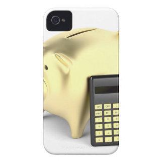Schwein und Taschenrechner Case-Mate iPhone 4 Hülle