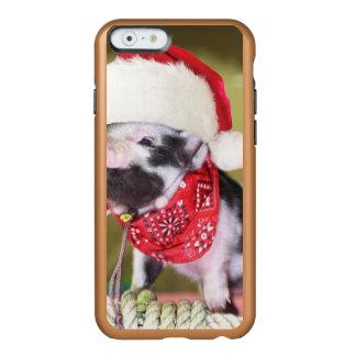 Schwein Weihnachtsmann - Weihnachtsschwein - Incipio Feather® Shine iPhone 6 Hülle