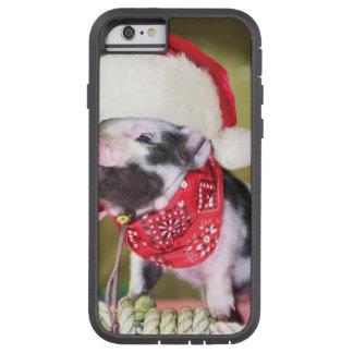 Schwein Weihnachtsmann - Weihnachtsschwein - Tough Xtreme iPhone 6 Hülle