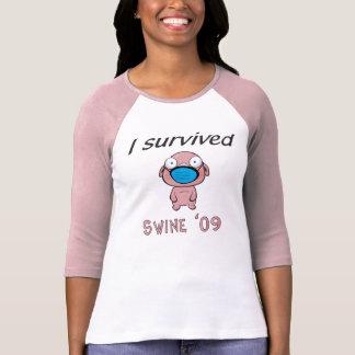 Schweine 09 - Damen T-Shirt