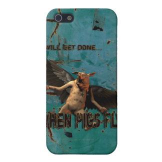 Schweine fliegen etui fürs iPhone 5