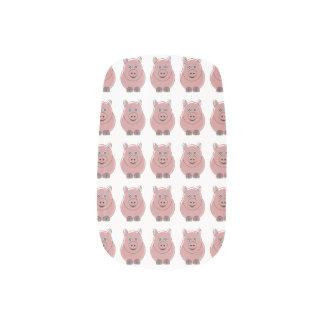 Schweine Minx Nagelkunst